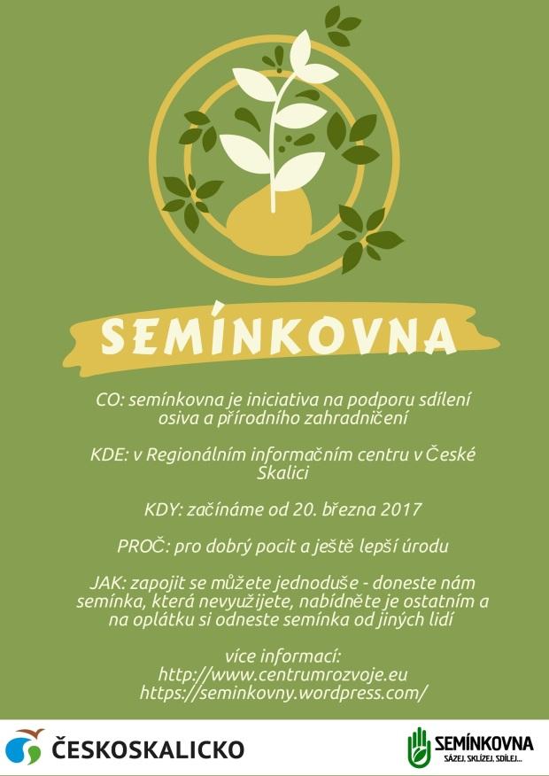 Semínkovna plakát FIN